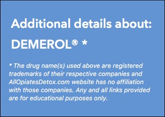 Identify Demerol Package Label