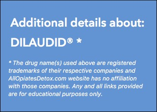 Identify Dilaudid Package Label
