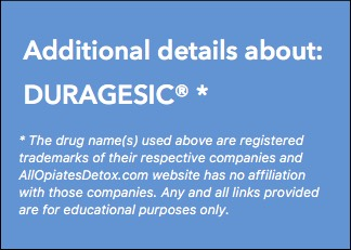 Identify Duragesic Package Label