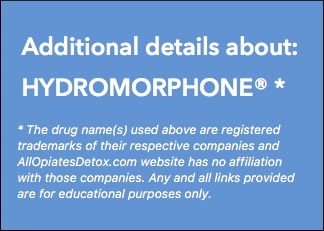 Identify Hydromorphone Package Label