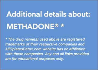 get more information about methadone