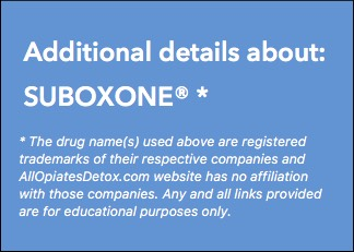 Identify Suboxone Package Label
